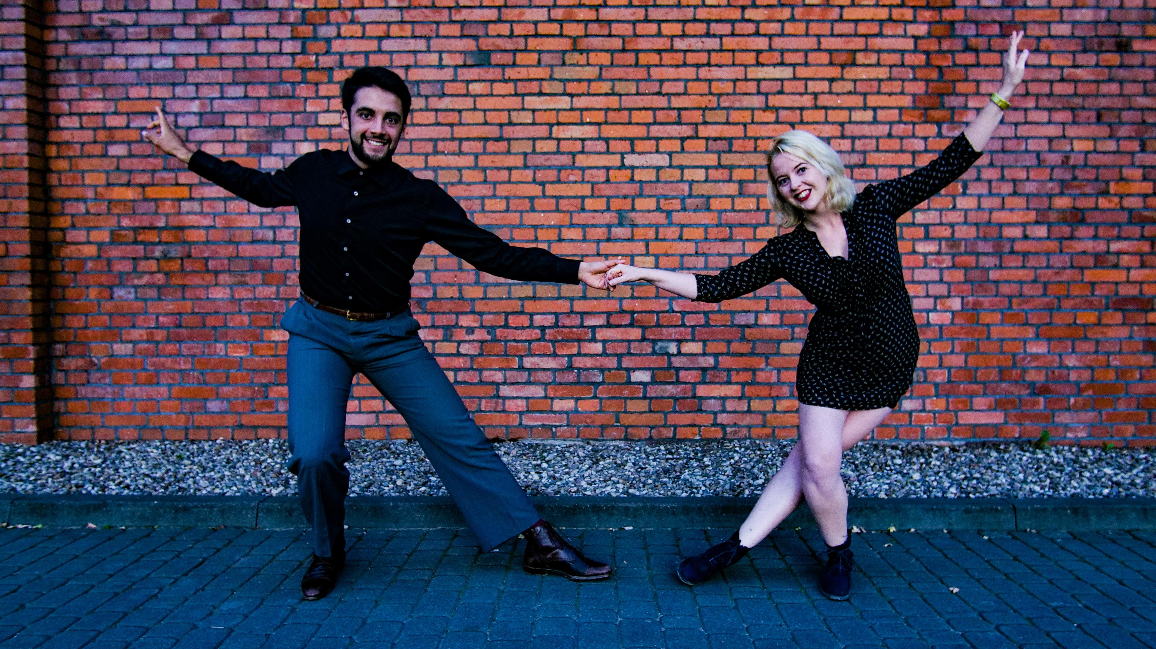Barbara and Alberto Taster teachers for Lindy Bug 2018