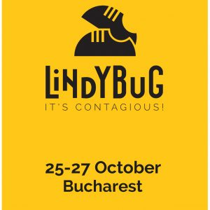 Lindy Bug Logo and date